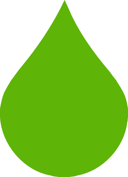 Green Raindrop Clip Art at Clker.com - vector clip art ...
