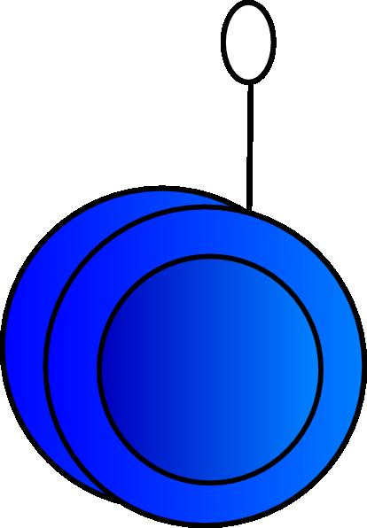 Yoyo Clipart Yo-yo Blue Clip Art at...