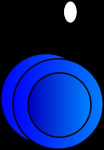Yo-yo Blue Clip Art at Clker.com - vector clip art online ...