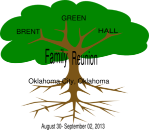 Brent- Green-hall Family Reunion Clip Art