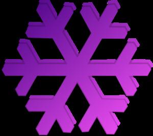 purple snowflake clip art at clker com vector clip art online rh clker com  snowflake image clipart
