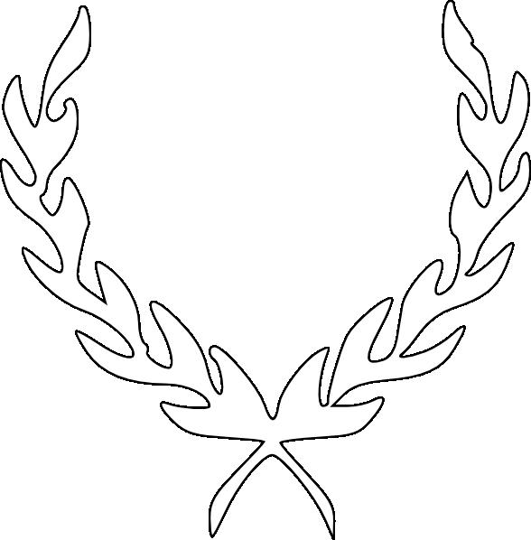 4 leaf clover outline