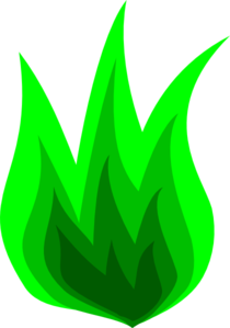 Animated Green Fire