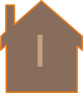 Brown House Clip Art