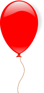 Red Ballon Clip Art