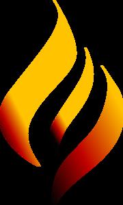 Flame (torch) Clip Art at Clker.com - vector clip art ...