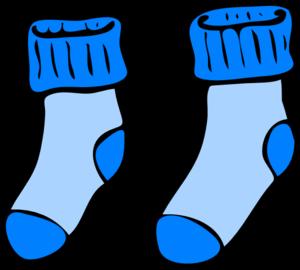 blue socks clip art at clker com vector clip art online royalty rh clker com sock clip art black and white stock clipart royalty free