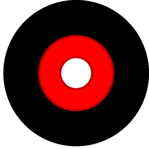 Black Vinyl Record Clip Art at Clker.com  vector clip art online
