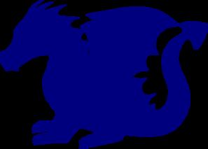 blue dragon clip art at clker com vector clip art online royalty rh clker com