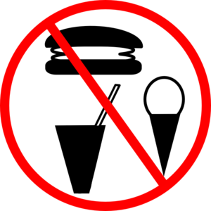 No Food Allowed Clip Art