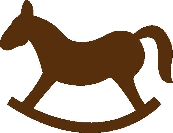 abc rocking horse clip art at clker com vector clip art online rh clker com rocking horse image clipart baby rocking horse clipart