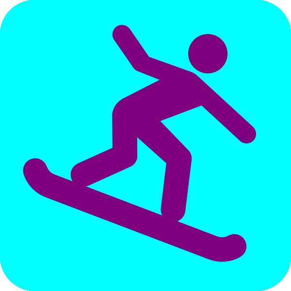 Snowboarding Clip Art