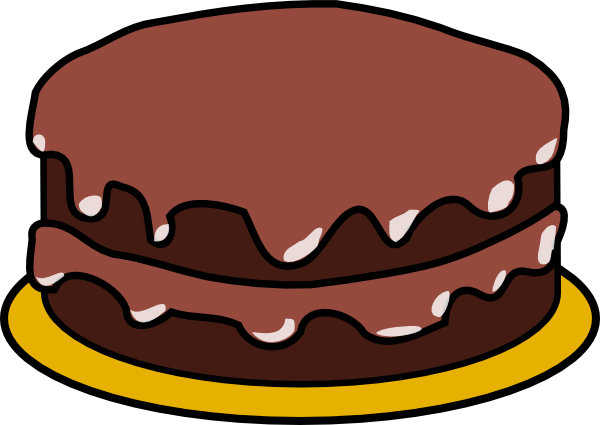 Simple Cake Clipart : Cake Clip Art at Clker.com - vector clip art online ...
