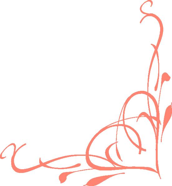 Corner Heart Swirl Clip Art At Clker Com Vector Clip Art