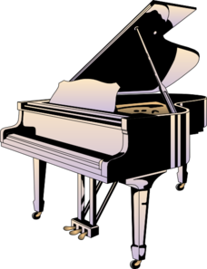 piano clip art at clker com vector clip art online royalty free rh clker com clipart piano free clipart piano keyboard