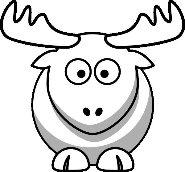 Moose Drawing Outline Moose Head Outline Download