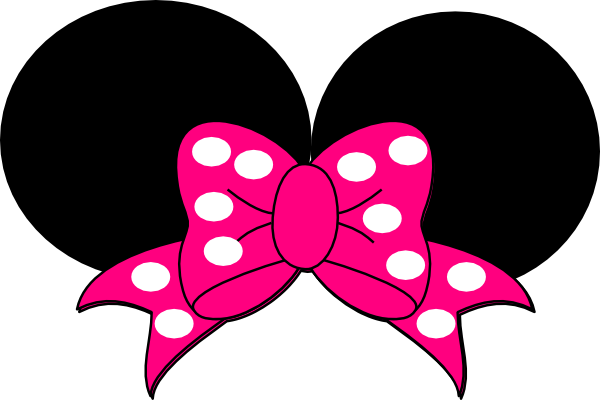 minnie mouse bow clip art pictures to pin on pinterest