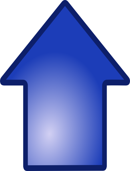 free clipart arrow pointing up - photo #14