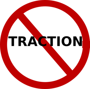 No Traction 2 Clip Art
