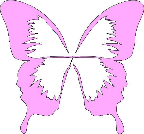 Butterfly Wings Clip Art At Clker.com - Vector Clip Art ...