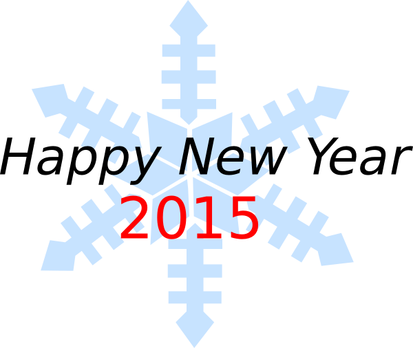 Happy New Year 2015 Clip Art
