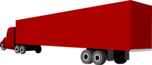 Truck And Trailer Clip Art