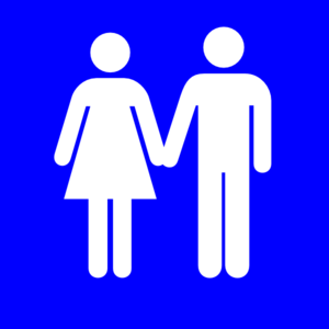 Man And Woman (heterosexual) Icon Clip Art