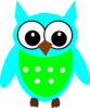 Bluegreenowl Clip Art