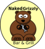 Naked Grizzly Logo Clip Art
