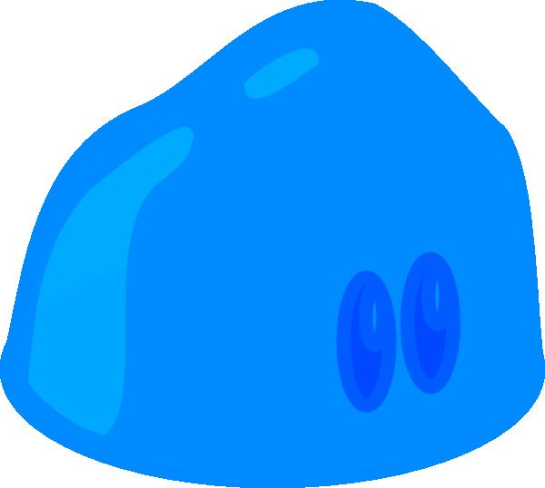 Blue Slime Clip Art at Clker.com - vector clip art online, royalty ...