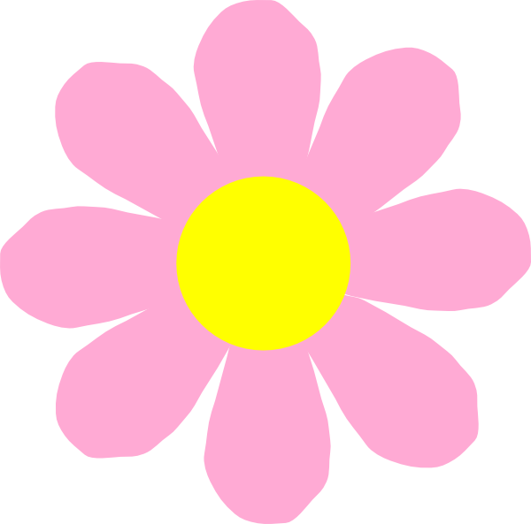 Pink Flower Purple Clip Art at Clker.com - vector clip art ...
