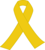 Yellow Ribbon With Border Clip Art