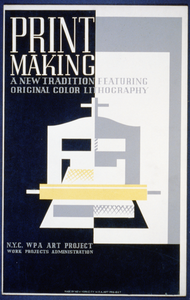 Print Making A New Tradition Featuring Original Color Lithography. Image