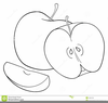 Apple Outline Clipart Image