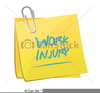 Work Injury Clipart Image
