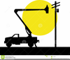 Boom Truck Clipart Image