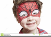 Kids Face Painting Clipart Image