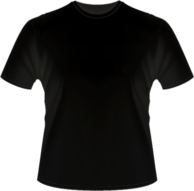 black t shirt vector - photo #17
