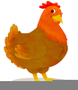 Clipart Picture Of A Hen Image