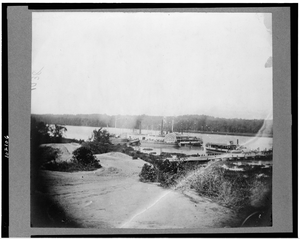[medical Supply Boat  Planter  On Appomattox River, Virginia] Image