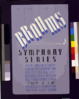 Wpa Federal Music Project Of Nyc [presents] Brahms Symphony Series Federal Symphony Orchestra - Distinguished Conductors And Assisting Artists. Clip Art