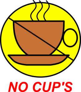 No Drinks Symbol Clip Art