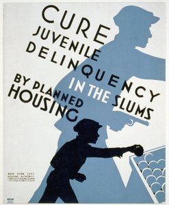 Cure Juvenile Delinquency In The Slums By Planned Housing Image