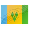 Flag Saint Vincent And The Grenadines 7 Image
