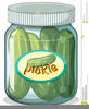 Free Clipart Pickle Jar Pickles Image