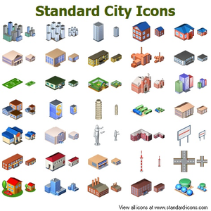 Standard City Icons Image