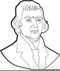 Clipart Of Thomas Jefferson Image
