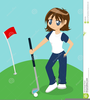 Miniature Golf Clipart Image