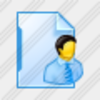 Icon File User 2 Image