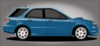 Small Blue Car Clip Art